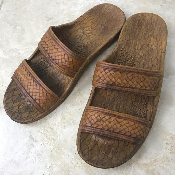 8265a2ab1 Pali Hawaiian Original Jesus Slide Sandal Jandal 9.  M 5c149031df0307e2aefe13ce